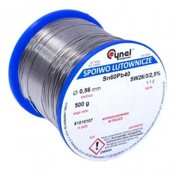 Припой Cynel 2mm/500g Sn60Pb40 LUT00101-500