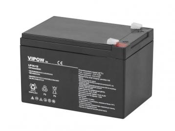 Акумулятор гелевий VIPOW 12 В 14 А/год BAT0217