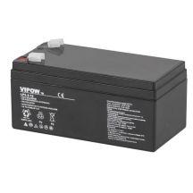 Аккумулятор гелевый VIPOW 12V 3.3Ah BAT0219