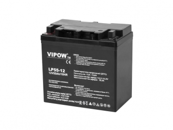 Акумулятор гелевий VIPOW 12V 55Ah BAT0223
