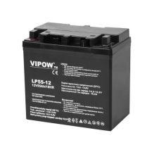 Аккумулятор гелевый VIPOW 12V 55Ah BAT0223