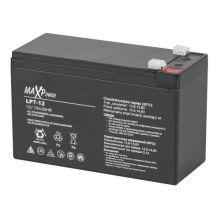 Акумулятор гелевий 12V 7Ah MaxPower BAT0402