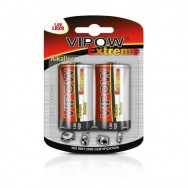 Батарейки 1,5 В VIPOW EXTREME LR20  блістер 2 шт Польща BAT0094B