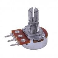Резистор переменный 500 кОм (потенциометр) серии 16К1 PRK0066