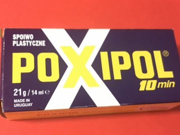 Клей Poxipol Поксіпол металізований оригінал 21g/14ml CHE2281