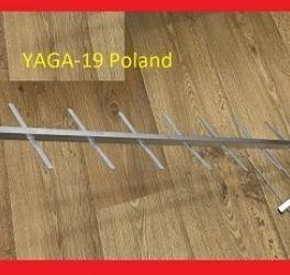 Антена телевізійна YAGI-19 Польща з узгоджувачем до 40 км ANT0098