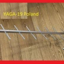 Антенна телевизионная YAGI-19 Польша с согласователем ANT0098