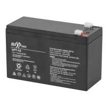 Акумулятор гелевий 12V 7,5Ah MaxPower BAT0403