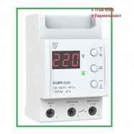 Реле напряжения однофазное  32А +термозащита ZUBR D32t