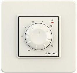 Терморегулятор механічний Terneo rtp Ivory