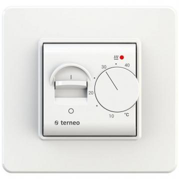 Терморегулятор механічний Terneo mex White