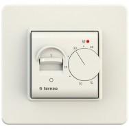 Терморегулятор механічний Terneo mex Ivory