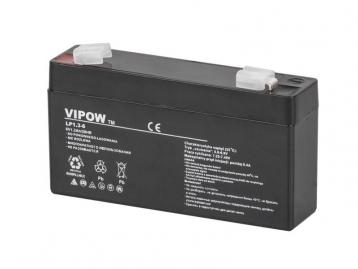 Аккумулятор гелевый  VIPOW 6 В 1,3 А/час BAT0203