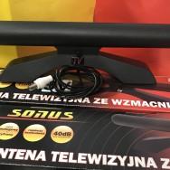 Антенна SONUS 5V, комнатная, активная DVB-T2 40 dB Польша tvson 5В