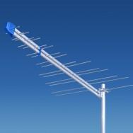 Антенна логопериодическая, внешняя 35 dB до 140 км DVBT LOG 2-69 Польща