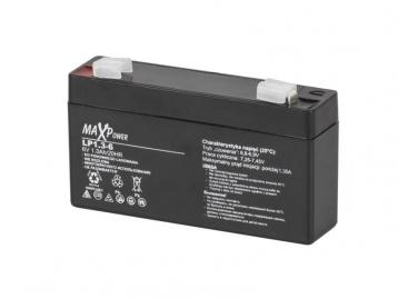 Акумулятор гелевий 6 В 1,3 А/год BAT0400