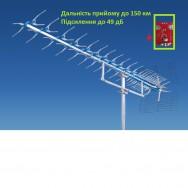 Антенна телевизионная, внешняя, мощная до 150 км ATV 21-69 X / 25 Польща