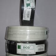 Кабель телевизионный 100 м DCG RG-6 black