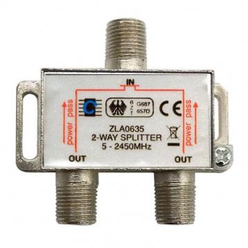 Антена телевізійна з комплектом підключення до DVB-T2 (50 км) АТ-11+