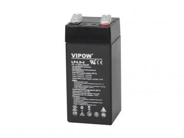 Аккумулятор гелевый  4 В 4,9 А/час BAT0271