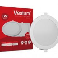 Світильник LED круглий 165 мм, врізний  VESTUM 12W 4000K 220V 1-VS-5104