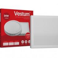Світильник LED квадратний 280х280 мм, накладний  VESTUM 24W 6000K 220V 1-VS-5404