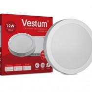 Світильник LED круглий 155мм, накладний  VESTUM 12W 4000K 220V 1-VS-5302