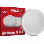 Світильник LED круглий 280 мм, накладний  VESTUM 24W 4000K 220V 1-VS-5304