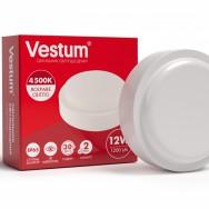 Світильник Led жкх круглий 12W 220V 4500K Vestum 1-VS-7102