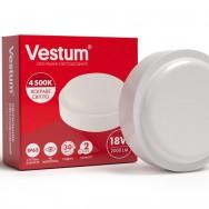 Світильник Led жкх круглий 18W 220V 4500K  Vestum 1-VS-7104