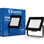 Прожектор Led Lectris 20W 1800ЛМ 6500K 185-265V 1-LС-3002