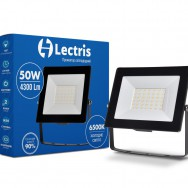 Прожектор Led Lectris 50W 4300ЛМ 6500K 185-265V 1-LС-3004