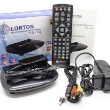 Тюнер цифровой Т2 Lorton T2-12 HD LED IR