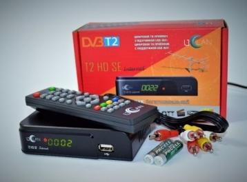 Тюнер цифровой Т2 uClan T2 HD SE Display