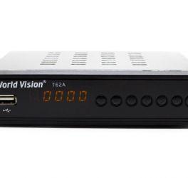 Тюнер цифровий Т2 World Vision T62A