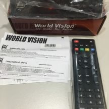 Тюнер цифровой Т2 World Vision T62A