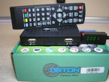 Тюнер цифровий Т2 ORTON Pantera Mini