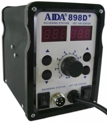 Станція паяльна AIDA 898D+