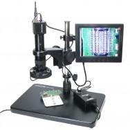 """Відеомікроскоп + монітор 8"""" BAKU BA-002"""