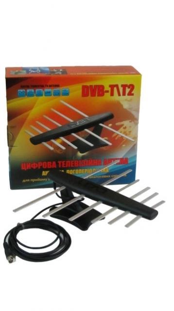 Антенна телевизионная, комнатная, цифровая DVB-T2 35 dB LOGO-1K