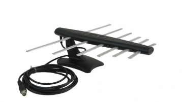 Антена телевізійна, кімнатна, цифрова DVB-T2 35 dB LOGO-1K
