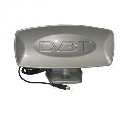 Антена телевізійна, кімнатна, цифрова, активна  DVB-Т2 Plastik 28 dB