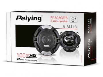 """Автомобильные динамики 100 Вт 5"""" Peiying PY-BG502T6"""