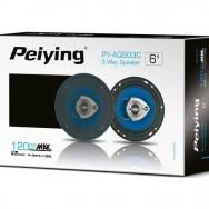"""Автомобильные динамики 120 Вт 6"""" Peiying PYAQ603C"""