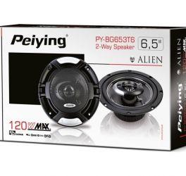 """Автомобильные динамики 120 Вт 6.5"""" Peiying PY-BG653T6"""