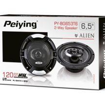 """Автомобільні динаміки 120 Вт 6.5"""" Peiying PY-BG653T6"""