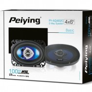 """Автомобильные динамики Peiying 100 Вт 4""""x6"""" PYAQ462C"""