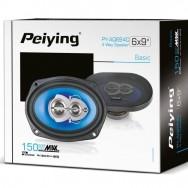 """Автомобильные динамики 150 Вт Peiying 6""""x9"""" PYAQ694C"""