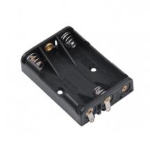 Тримач для 3 батарейок типу ААA плоский  GNI0056