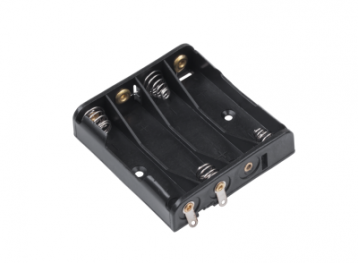 Тримач для 4 батарейок типу  ААА плоский  GNI0054